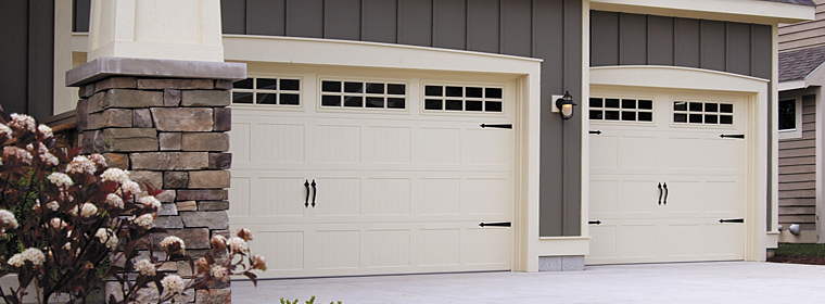 American Made Garage Door - Model # 5283 - All-Steel Carriage House Door